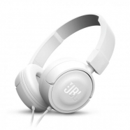 JBL On-ear slusalice sa mikrofonom T450 white