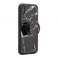 Popsocket Marble case iPhone X crna