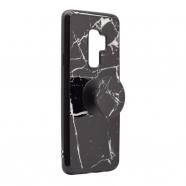 Popsocket Marble case Samsung S9 Plus/G965 crna